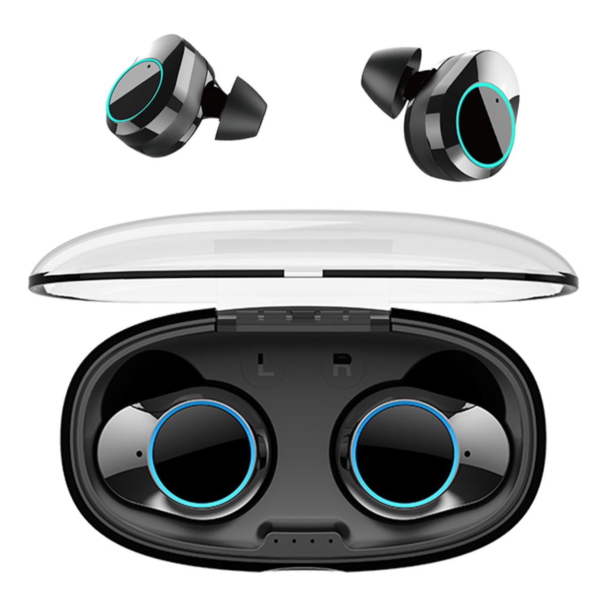 T2C TWS Bluetooth 5.0 earphone hifi stereo type-c charging case wholesale china 1 (1)
