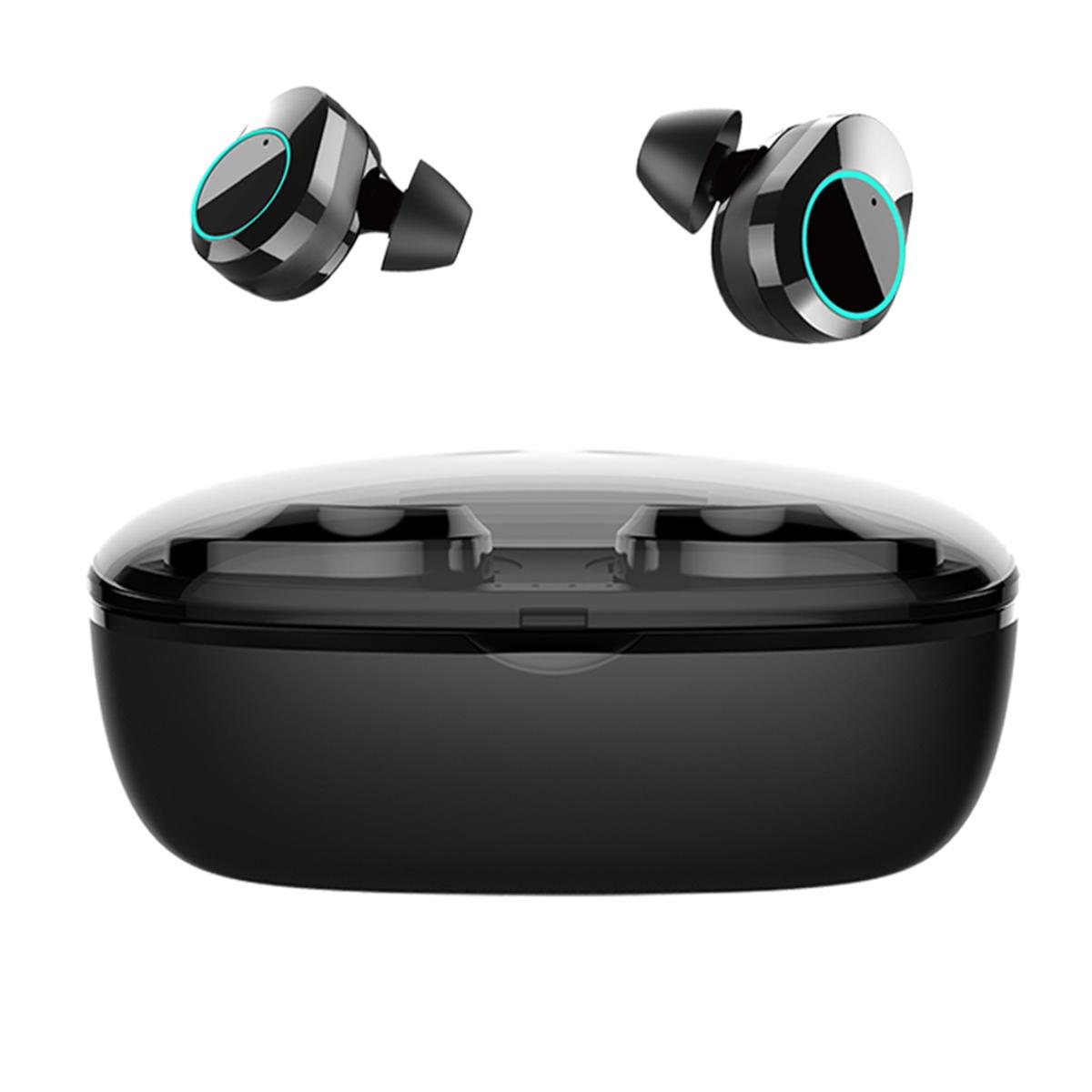 T2C TWS Bluetooth 5.0 earphone hifi stereo type-c charging case wholesale china 1 (12)