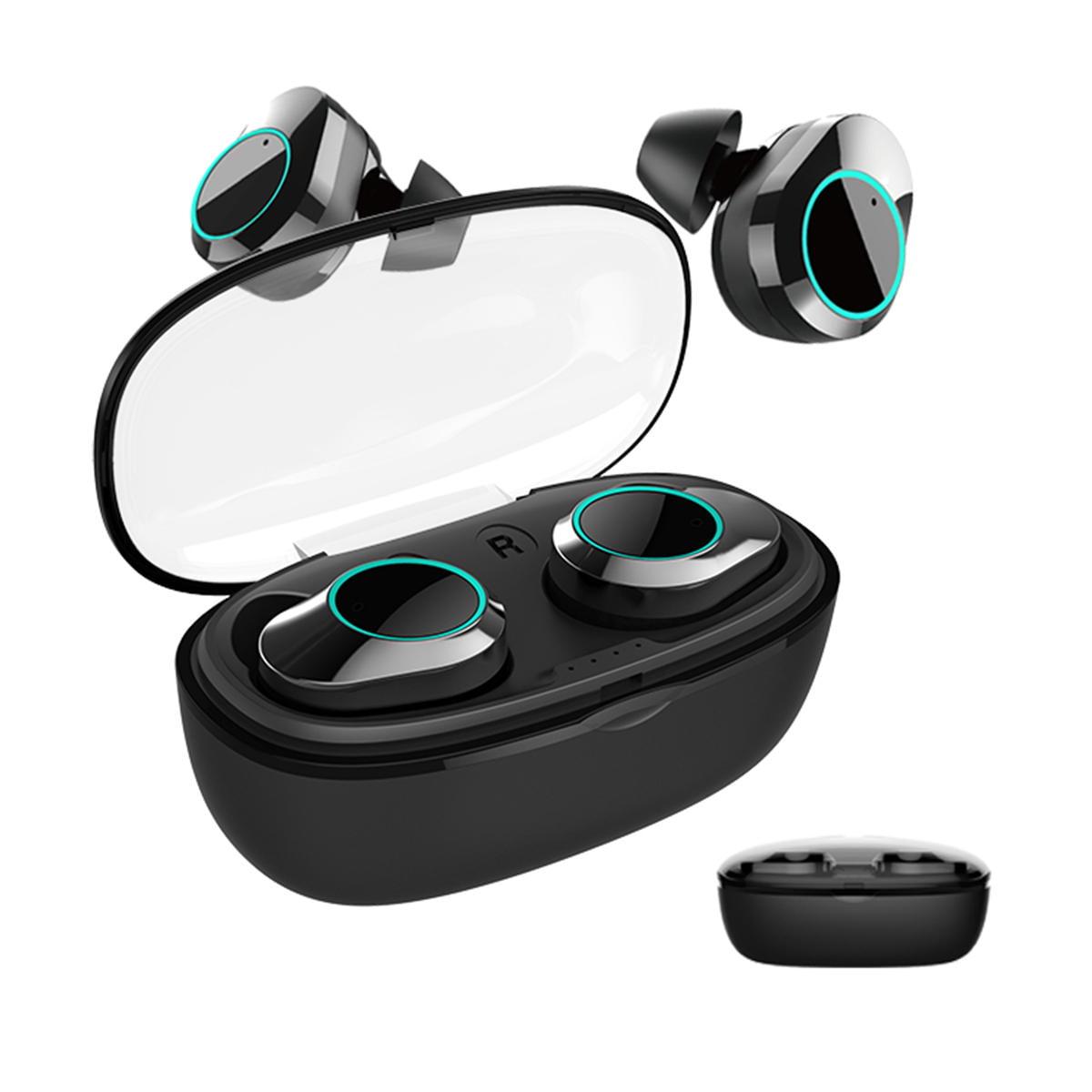 T2C TWS Bluetooth 5.0 earphone hifi stereo type-c charging case wholesale china 1 (13)