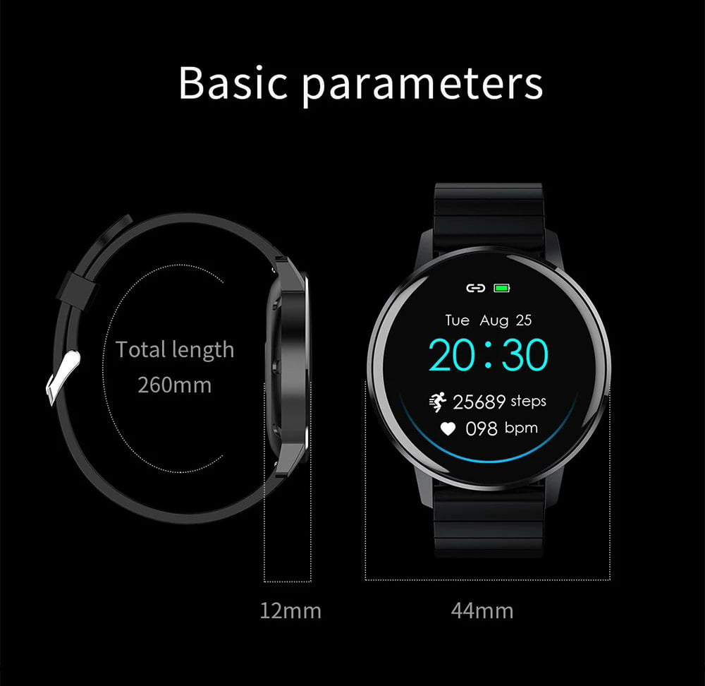 T4 pro 1.3 inch touch screen heart rate blood pressure oxygen (5)