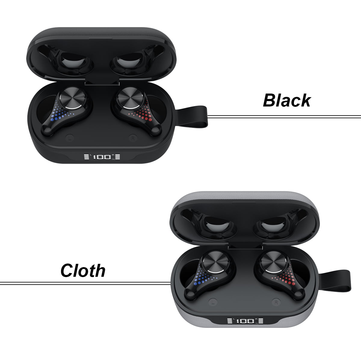 T8 tws wireless earphone bluetooth 5.0 (14)
