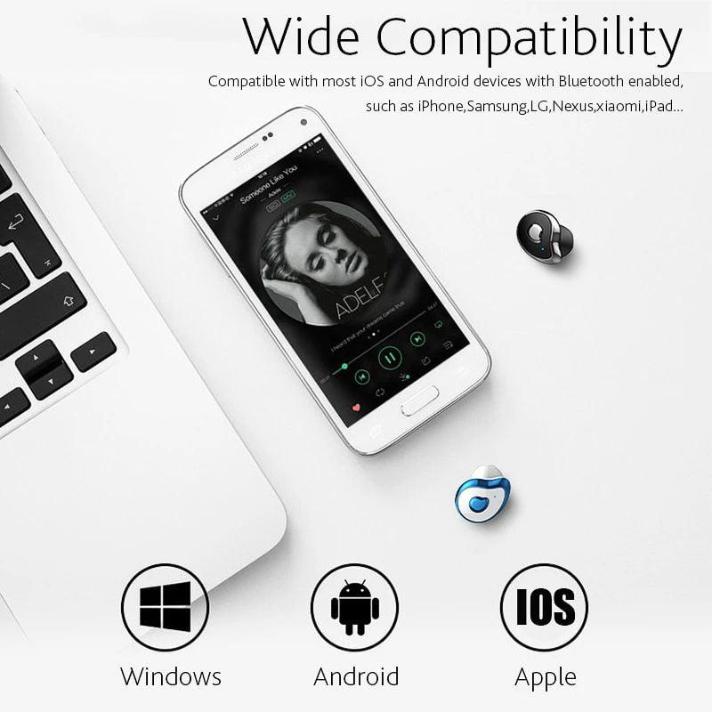 TW2 Bluetooth 5.0 tws true wireless earbuds stereo auto paring earphone (12)