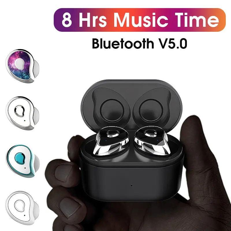 TW2 Bluetooth 5.0 tws true wireless earbuds stereo auto paring earphone (15)