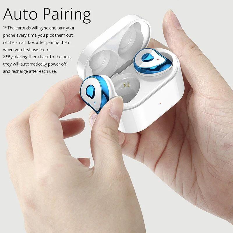 TW2 Bluetooth 5.0 tws true wireless earbuds stereo auto paring earphone (16)