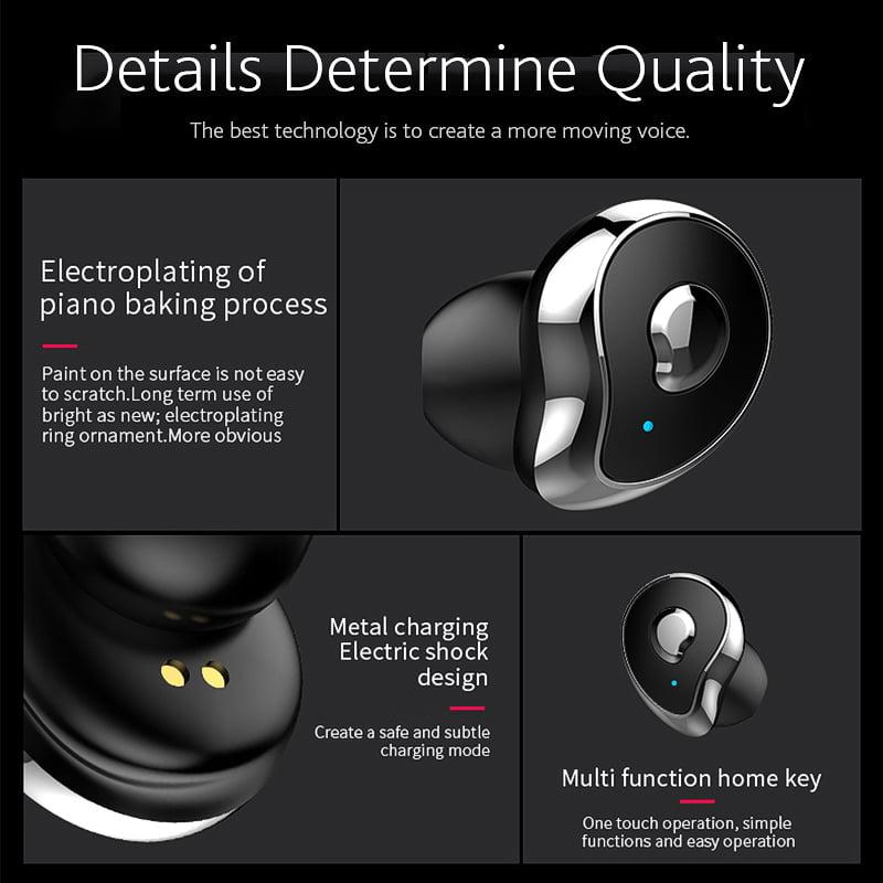 TW2 Bluetooth 5.0 tws true wireless earbuds stereo auto paring earphone (19)