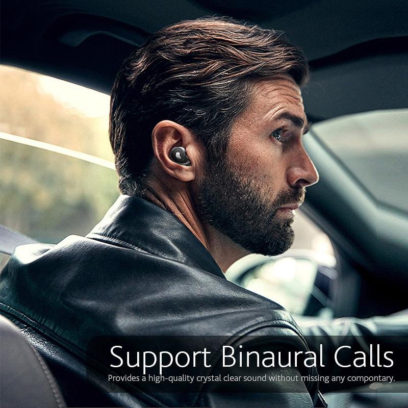 TW2 Bluetooth 5.0 tws true wireless earbuds stereo auto paring earphone (20)