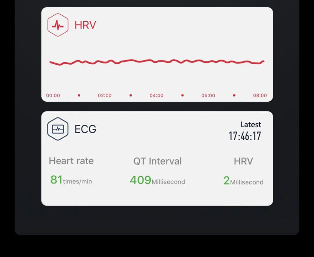W3 ecg blood pressure heart rate spo2 heart health monitor (13)