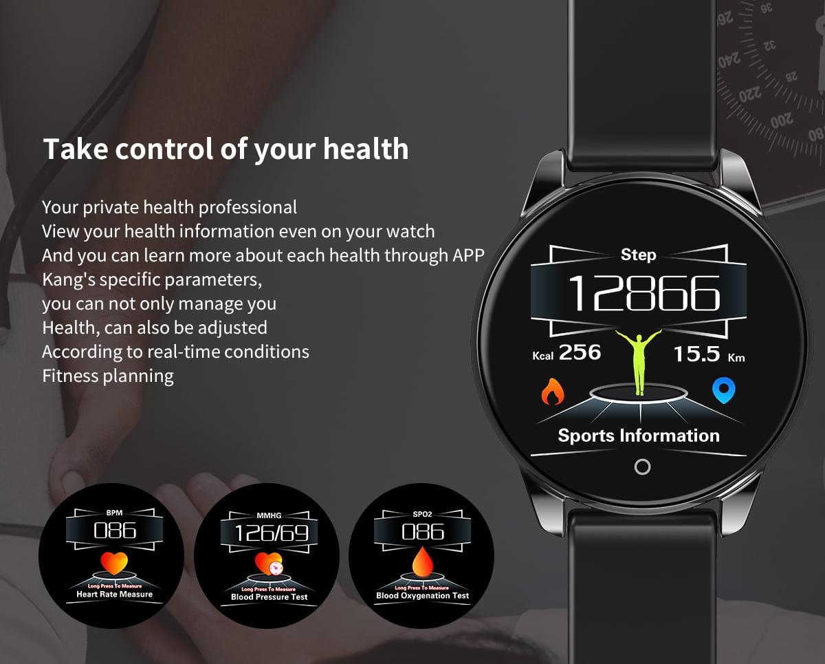 Watch 4 smart watch hd color screen wristband (18)