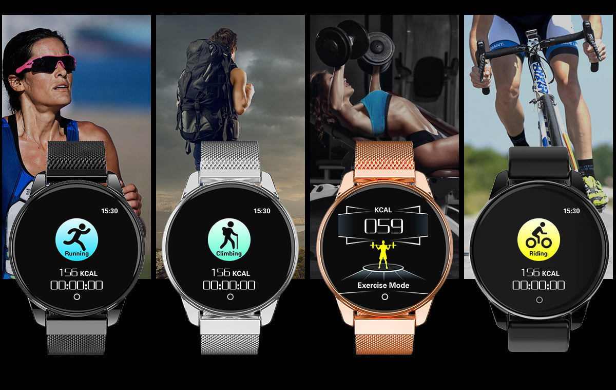Watch 4 smart watch hd color screen wristband (6)