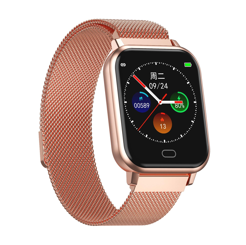 Bakeey smartwatch Watch 6 smart watch heart rate blood pressure oxygen monitor wristband (1)