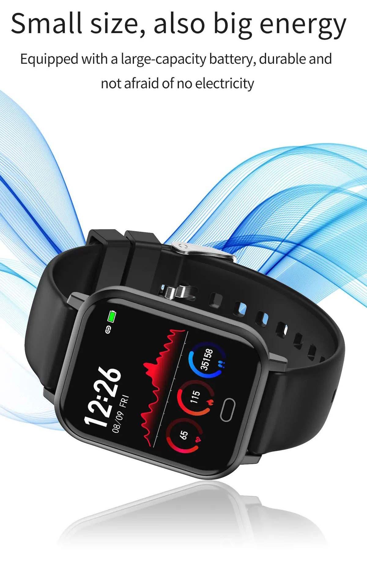 Watch 6 heart rate blood pressure oxygen monitor wristband (13)