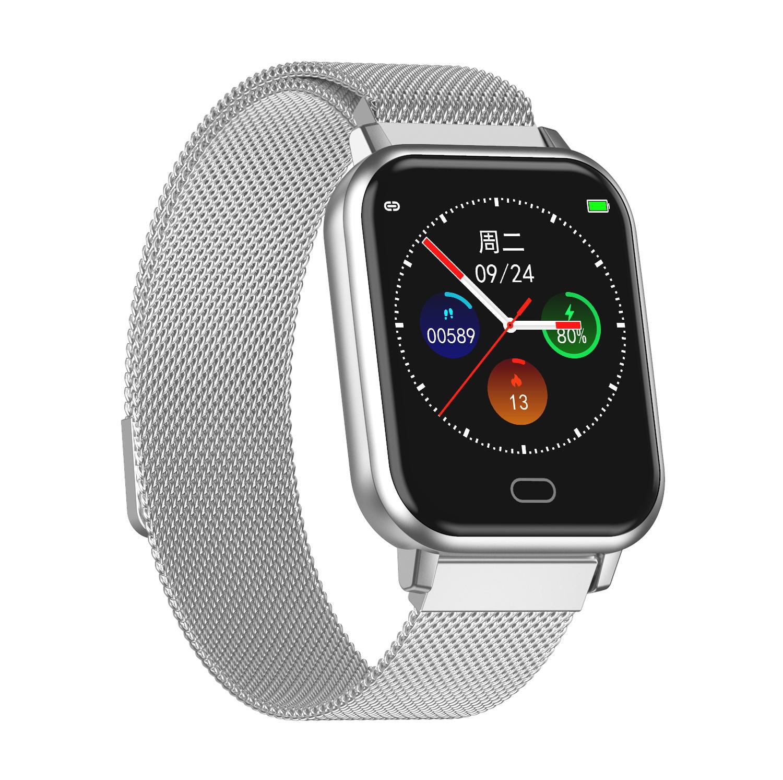 Bakeey smartwatch Watch 6 smart watch heart rate blood pressure oxygen monitor wristband (19)