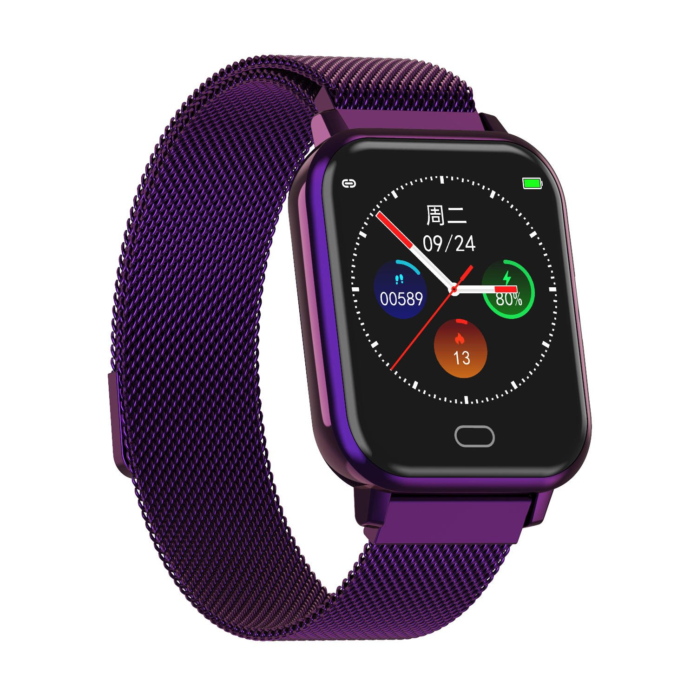 Watch 6 heart rate blood pressure oxygen monitor wristband (7)