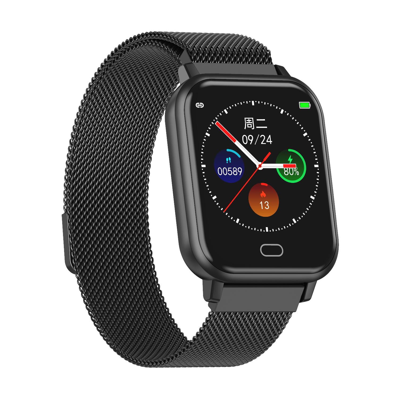 Bakeey smartwatch Watch 6 smart watch heart rate blood pressure oxygen monitor wristband (8)