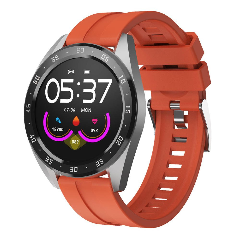 Bakeey smartwatch X10 heart rate blood oxygen monitor weather push call rminder smart watch wholesale (4)