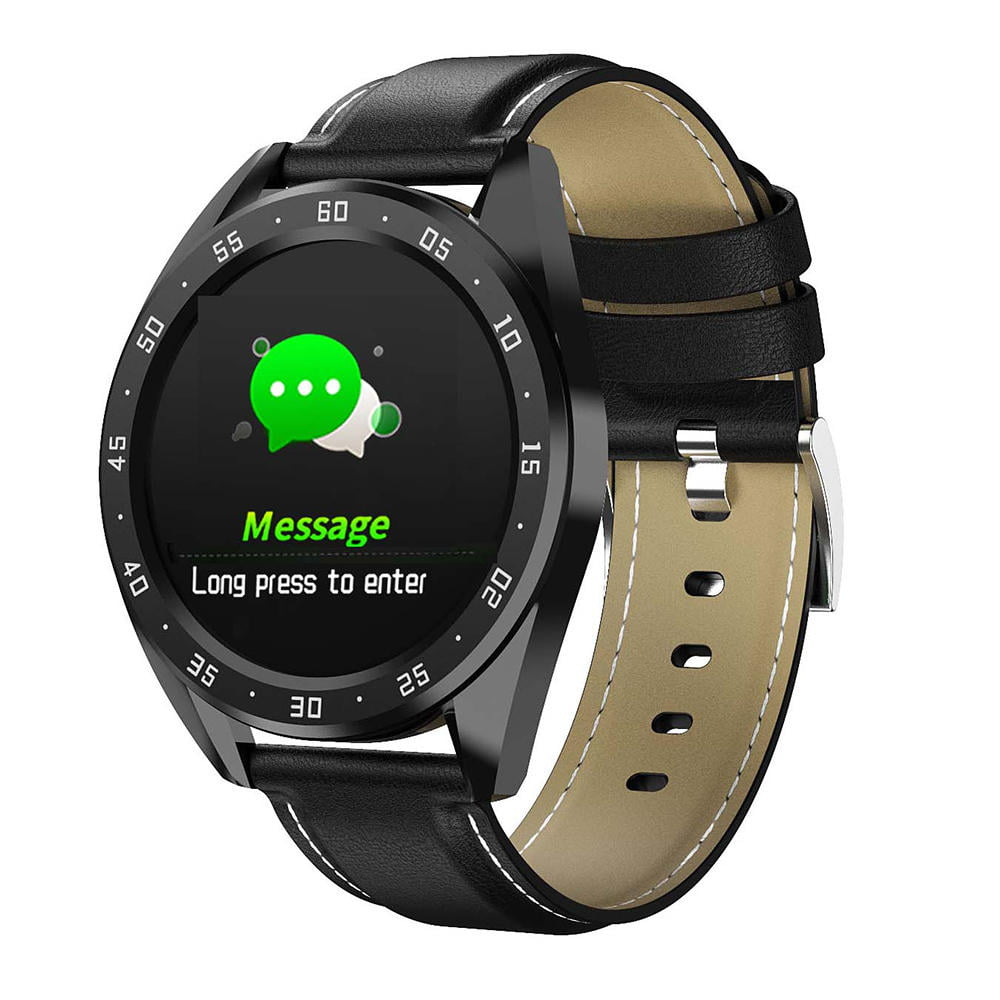 Bakeey smartwatch X10 heart rate blood oxygen monitor weather push call rminder smart watch wholesale (11)