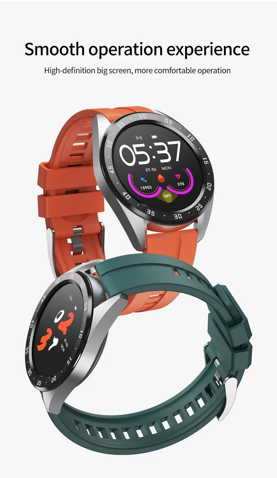 X10 heart rate blood oxygen monitor weather push call rminder smart watch wholesale (13)