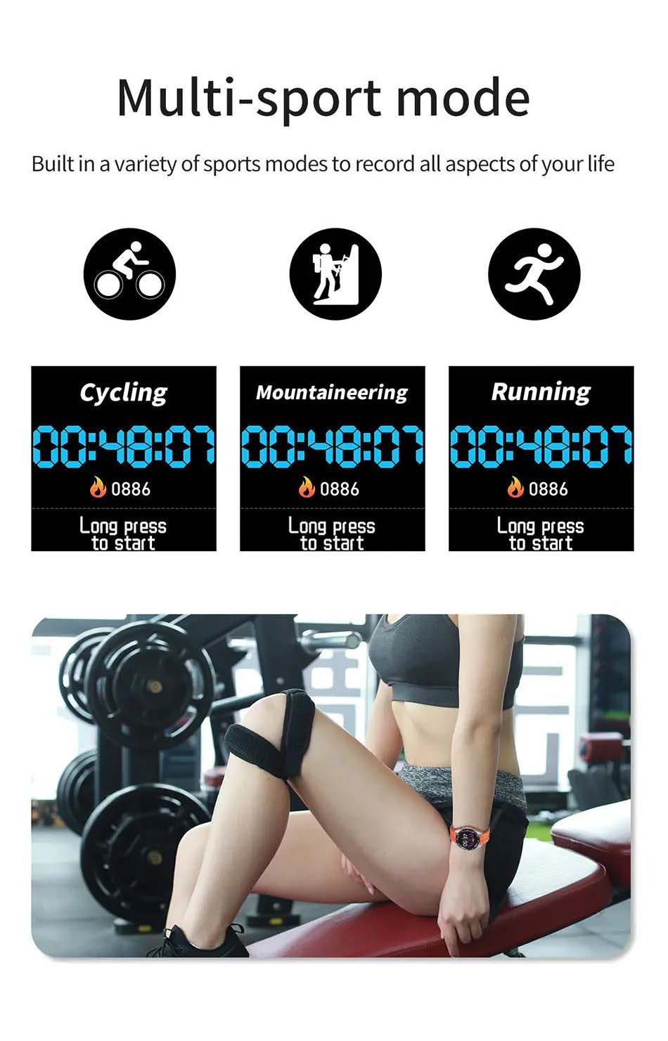 X10 heart rate blood oxygen monitor weather push call rminder smart watch wholesale (16)