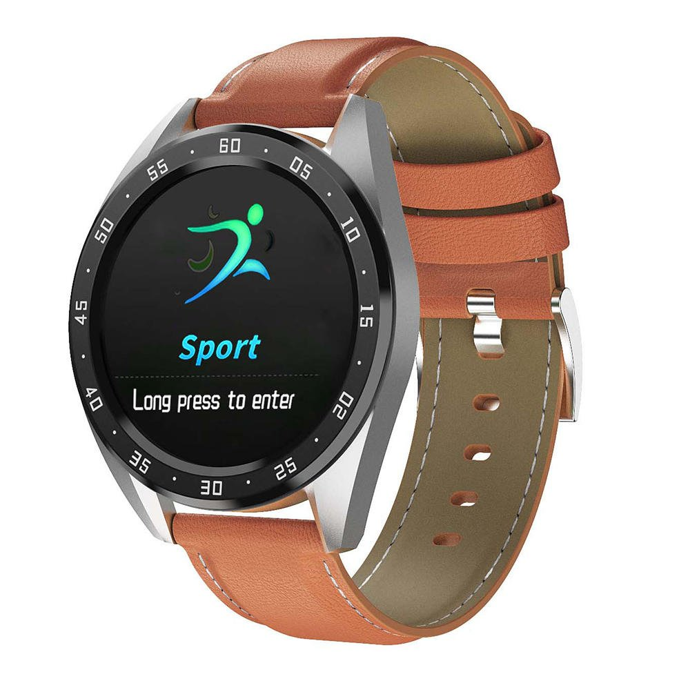 Bakeey smartwatch X10 heart rate blood oxygen monitor weather push call rminder smart watch wholesale (3)