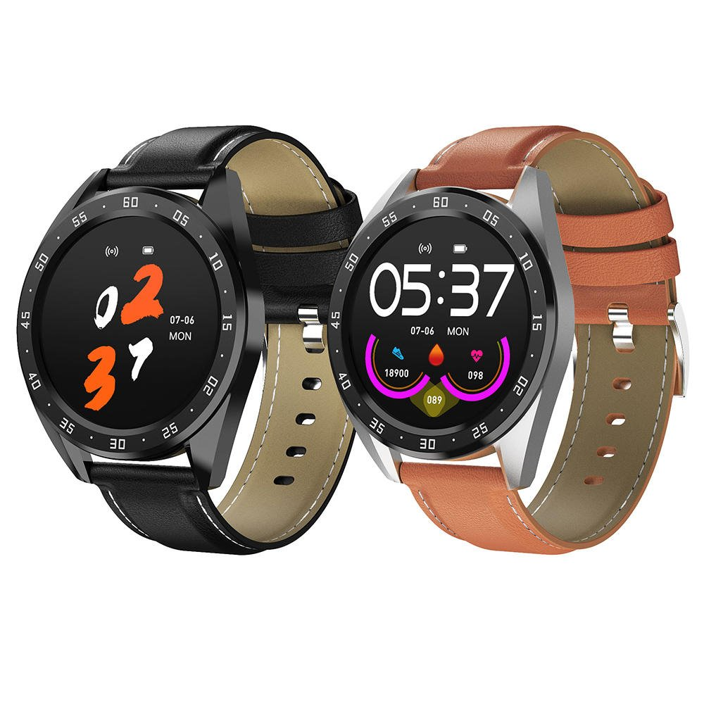 Bakeey smartwatch X10 heart rate blood oxygen monitor weather push call rminder smart watch wholesale (9)