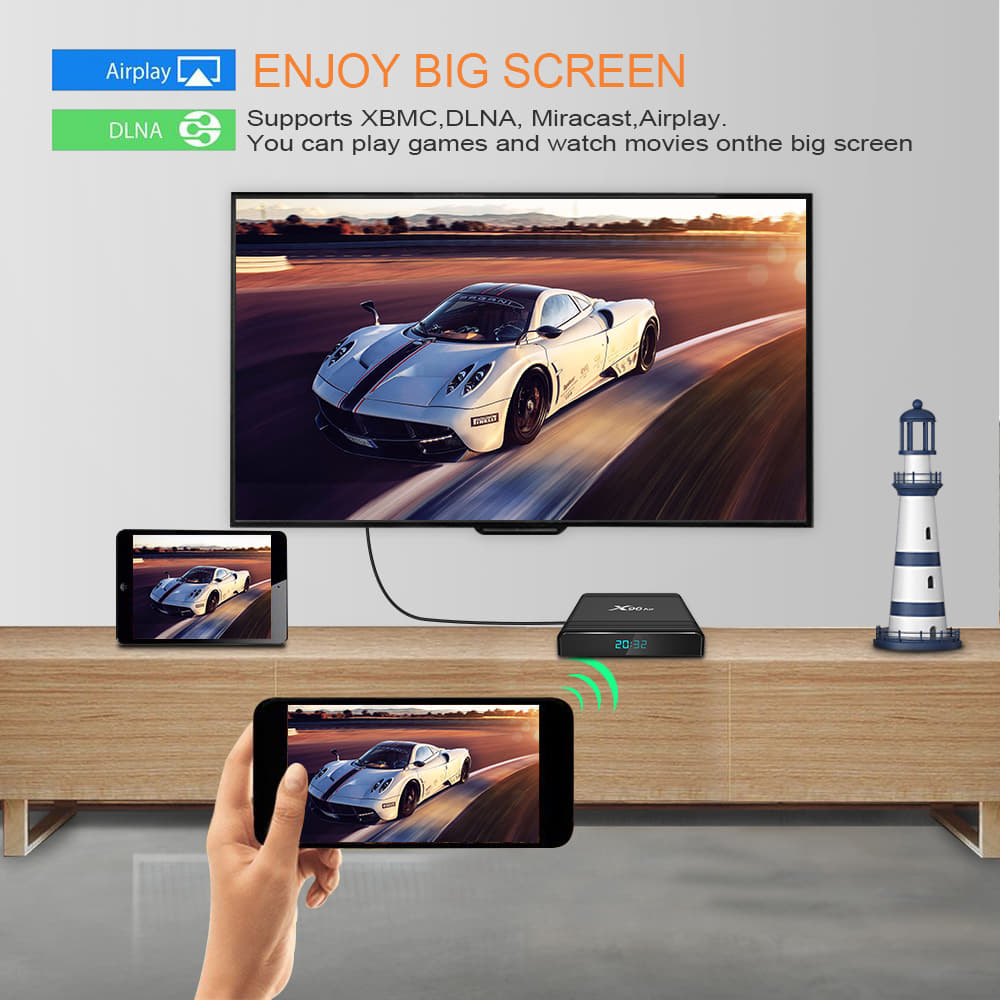 X96 Air Amlogic S905x3 8K Video 4GB RAM 32GB ROM Android 9.0 (6)