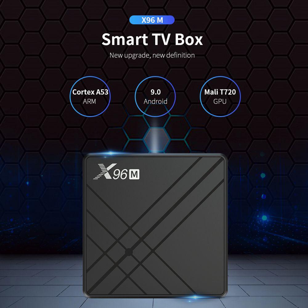 X96M Allwinner H603 4GB RAM 64GB ROM Android 9.0 USB Type-c Smart TV BOX (18)
