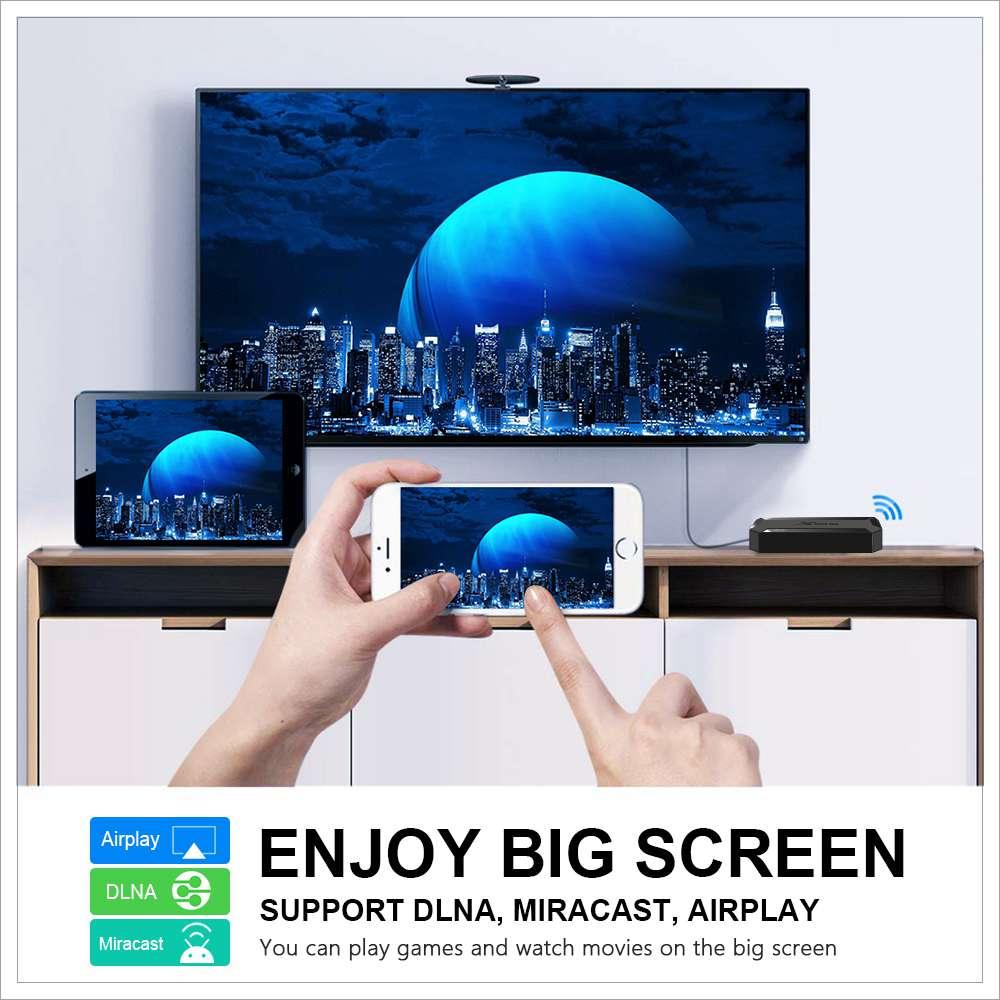 X96Q Allwinner H313 2GB RAM 16GB ROM Android 10 4K Smart TV BOX (10)