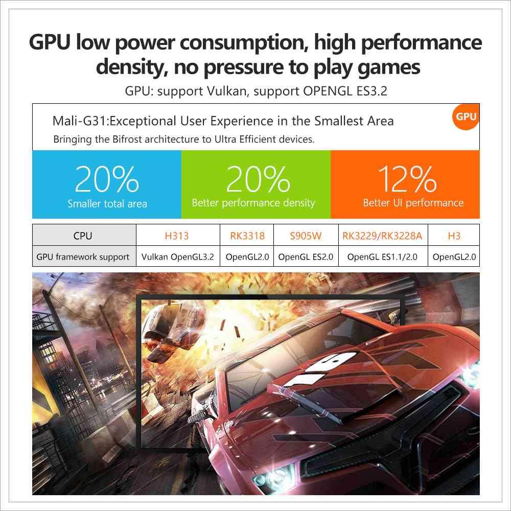 X96Q Allwinner H313 2GB RAM 16GB ROM Android 10 4K Smart TV BOX (5)