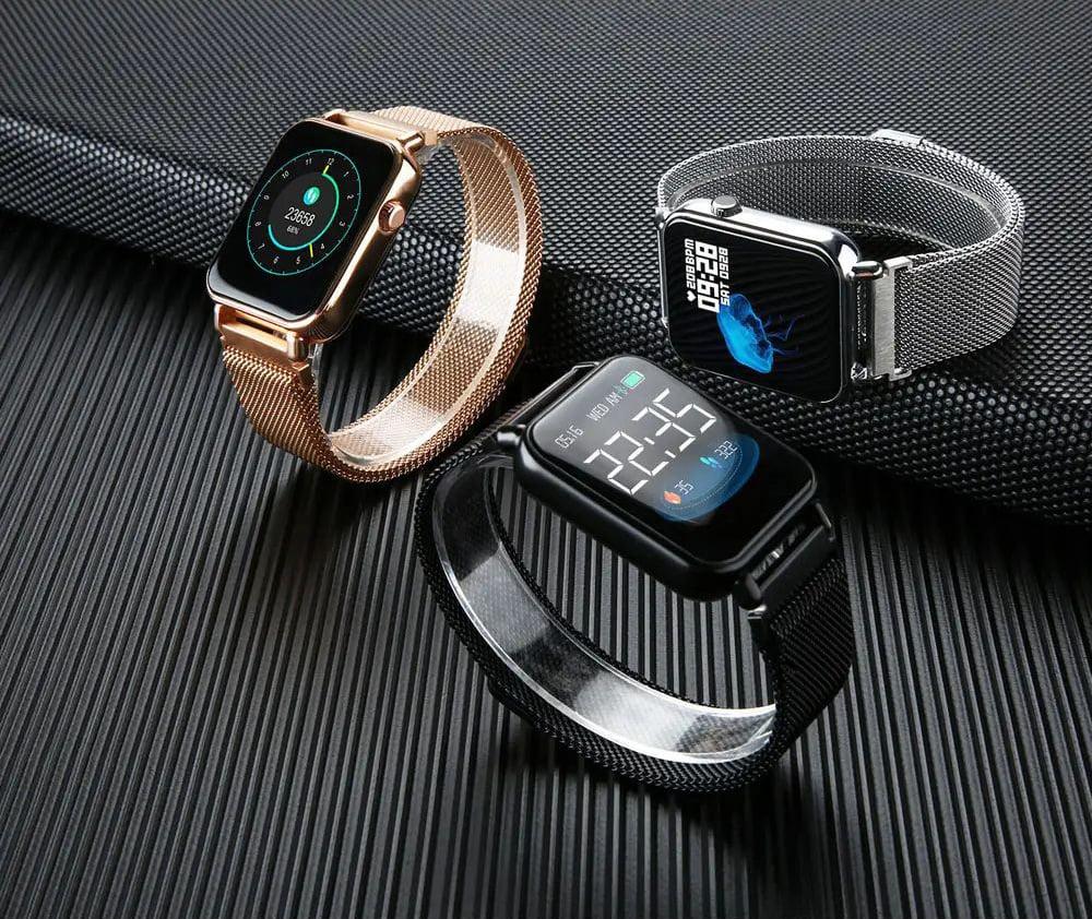 Y6 pro Smart watch fun dynamic icon hr blood pressure (17)