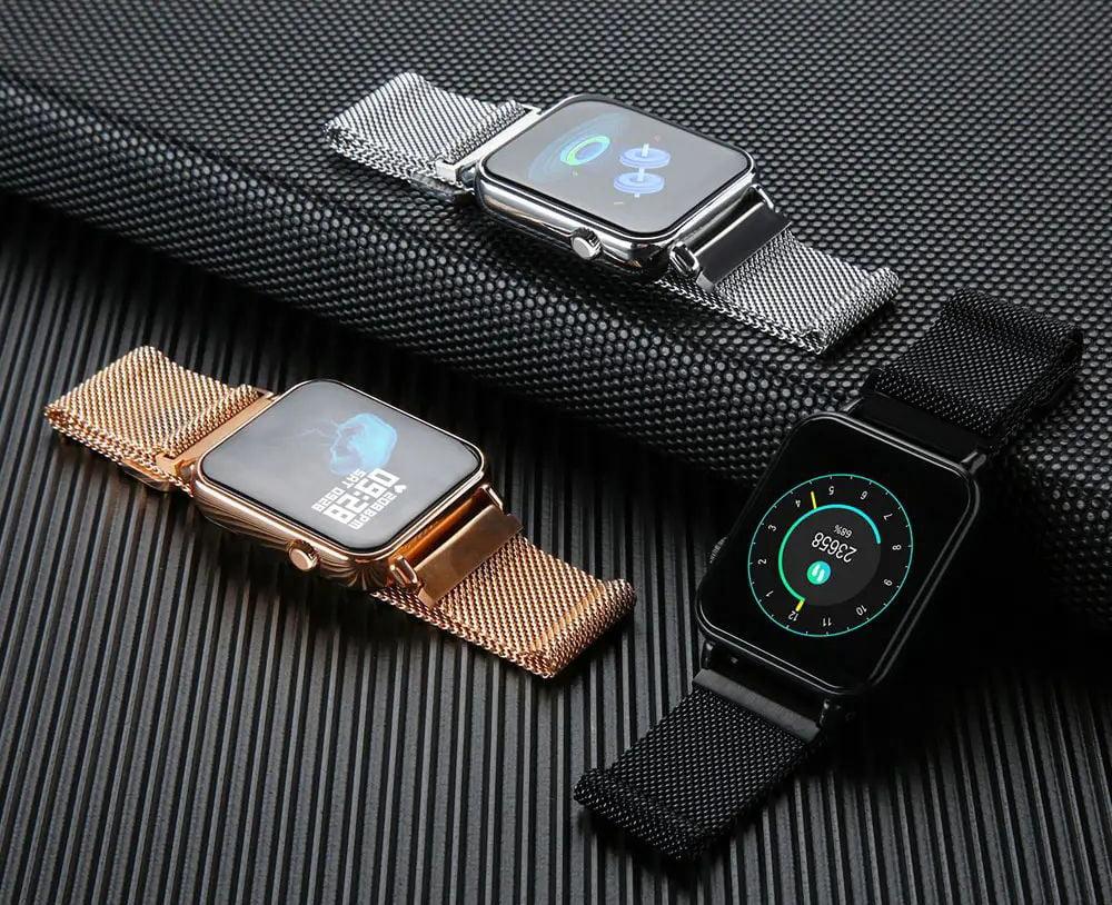 Y6 pro Smart watch fun dynamic icon hr blood pressure (14)