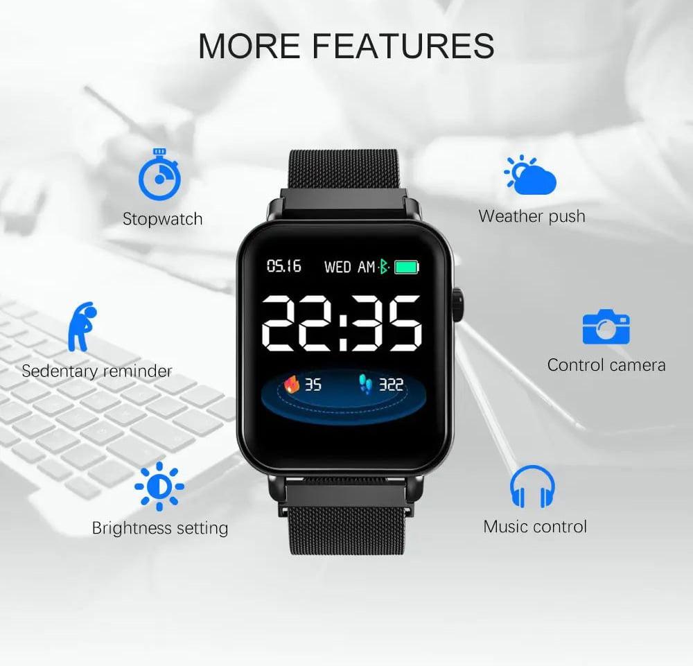 Y6 pro Smart watch fun dynamic icon hr blood pressure (29)