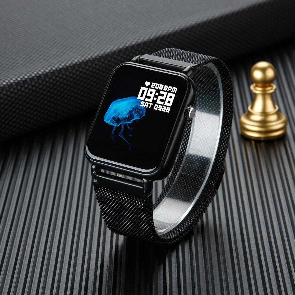 Y6 pro Smart watch fun dynamic icon hr blood pressure (4)