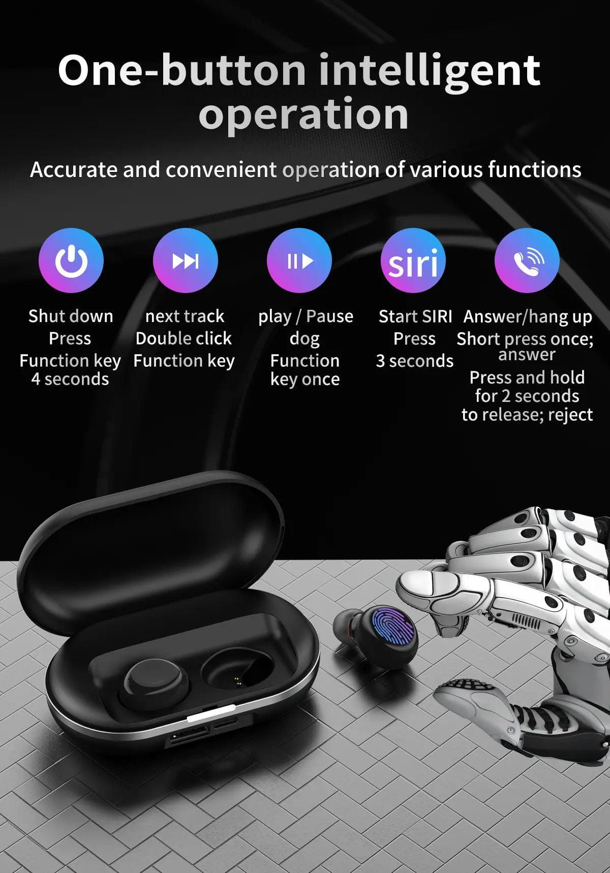ZLT01 TWS Earphone wireless bluetooth 5.0 (10)
