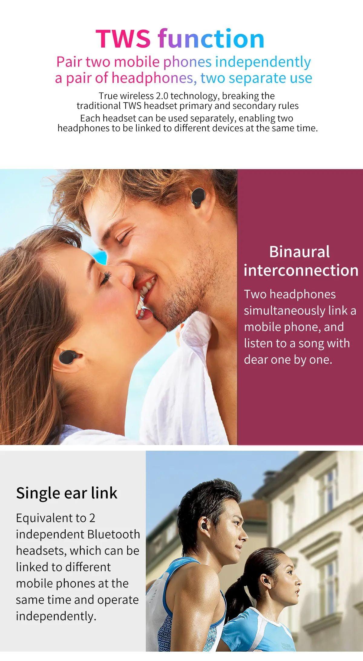 ZLT01 TWS Earphone wireless bluetooth 5.0 (6)