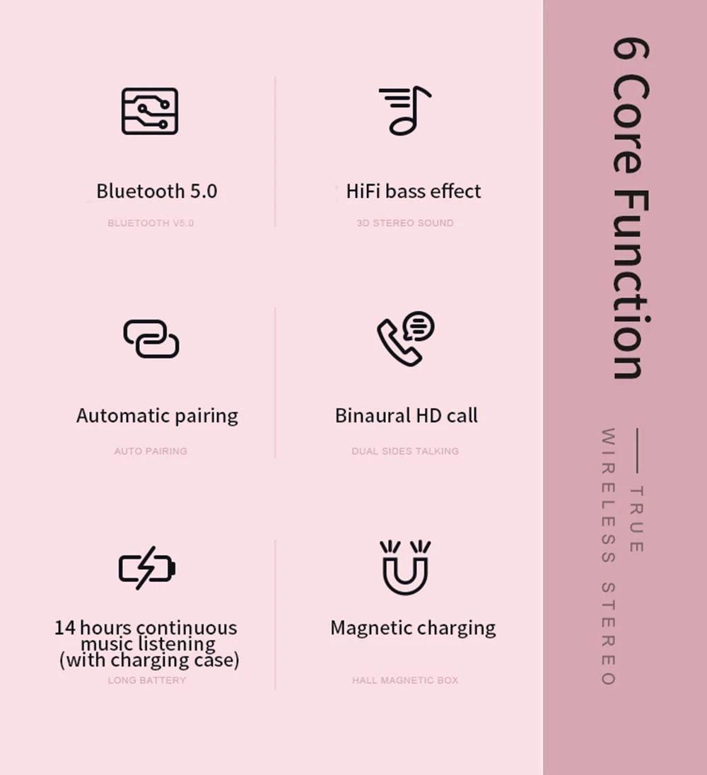 d021 tws earphone bluetooth 5.0 for iphone xiaomi huawei (1 (9)