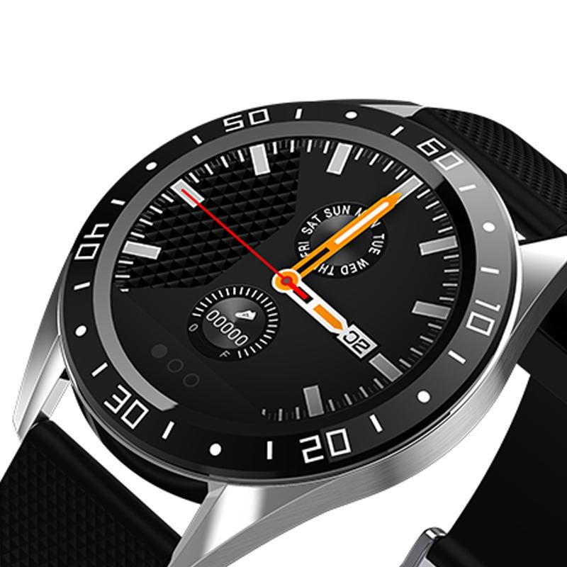Bakeey smartwatch gt105 smart watch 1.22 inch heart rate blood pressure monitor (10)