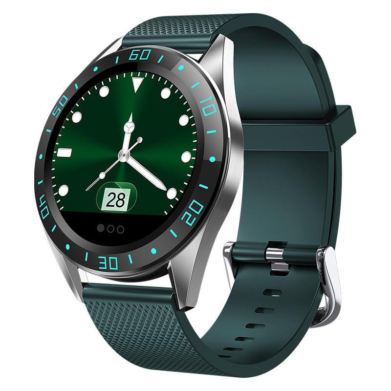Bakeey smartwatch gt105 smart watch 1.22 inch heart rate blood pressure monitor (12)
