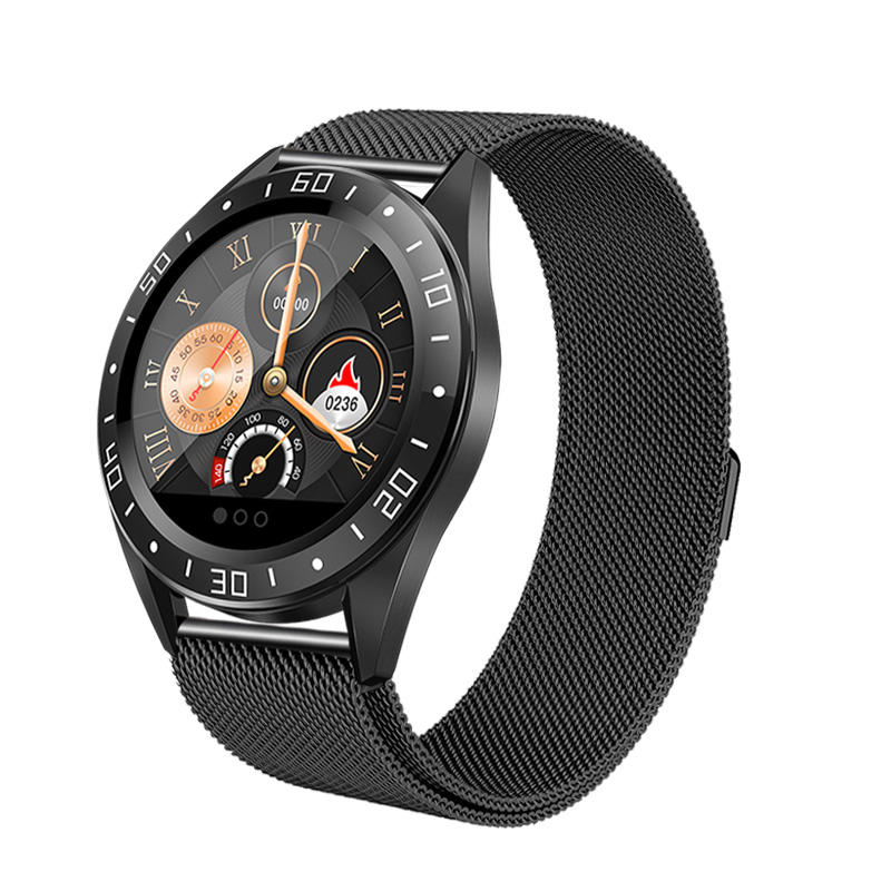 Bakeey smartwatch gt105 smart watch 1.22 inch heart rate blood pressure monitor (3)