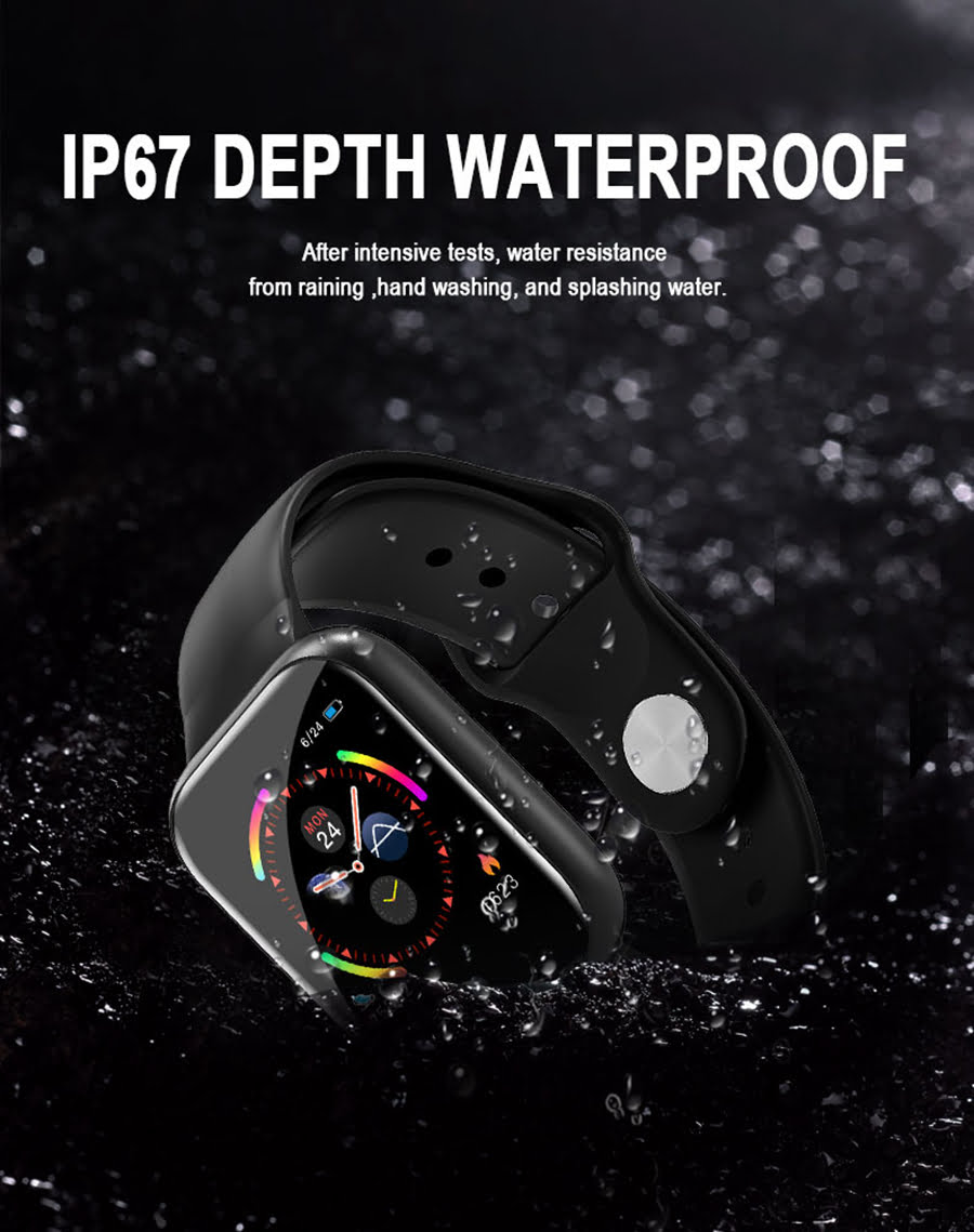 i5 real time heart rate o2 monitor smart watch (7)