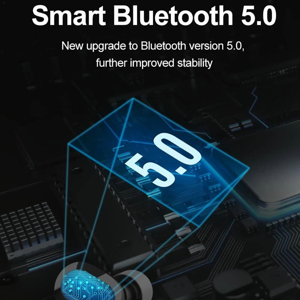 s3 tws earphone wireless bluetooth 5.0 hifi heavy bass (6)