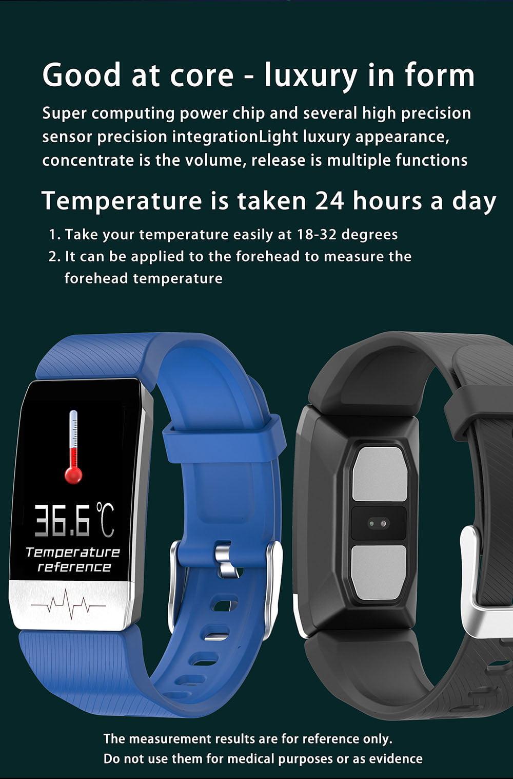 t11 ecg health monitor thermometer temperature measurement (2)