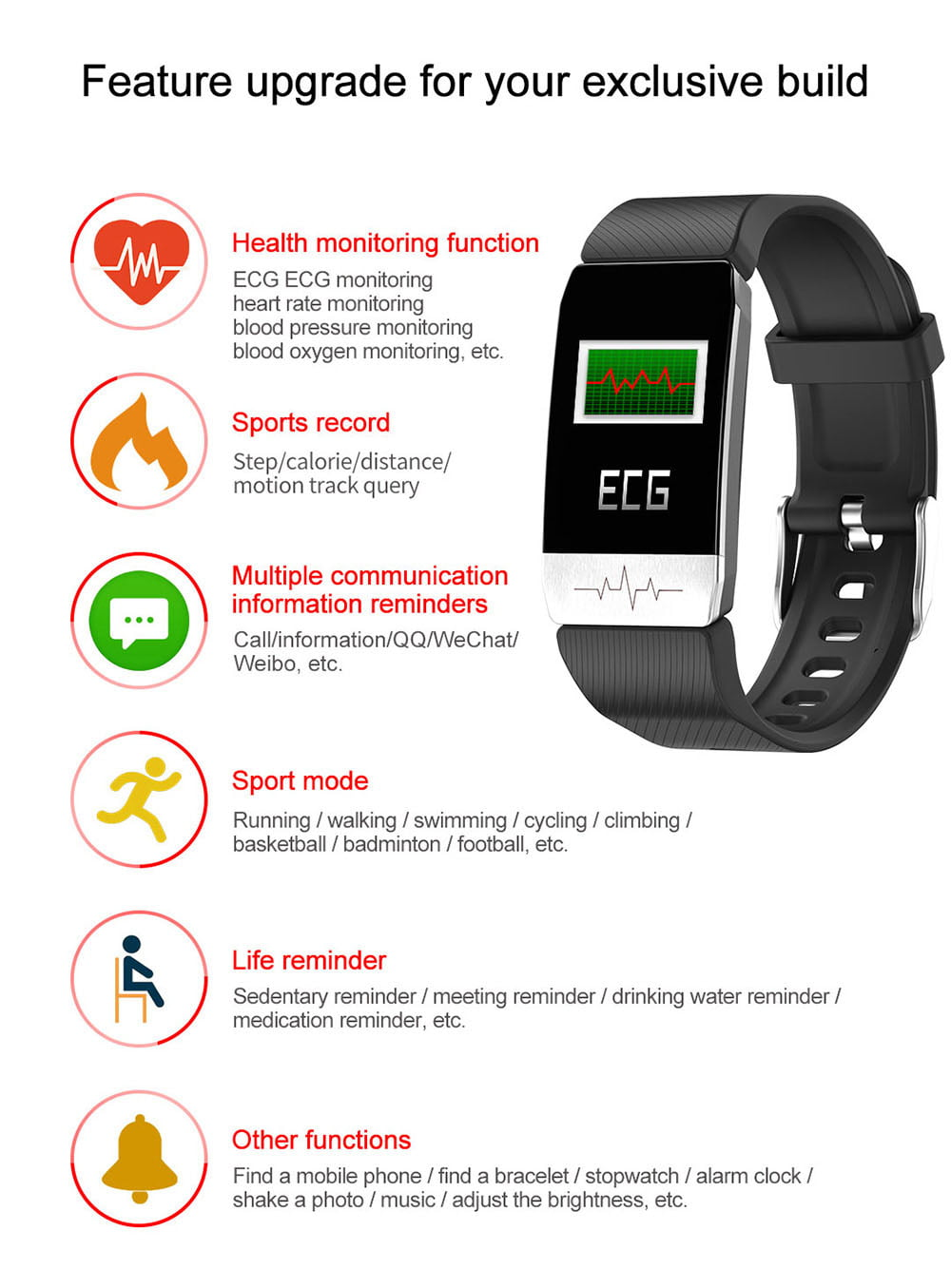t11 ecg health monitor thermometer temperature measurement (1)
