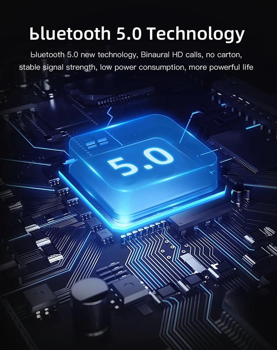 V1 TWS bluetooth Earphone Gaming Headphone LED Digital (9)