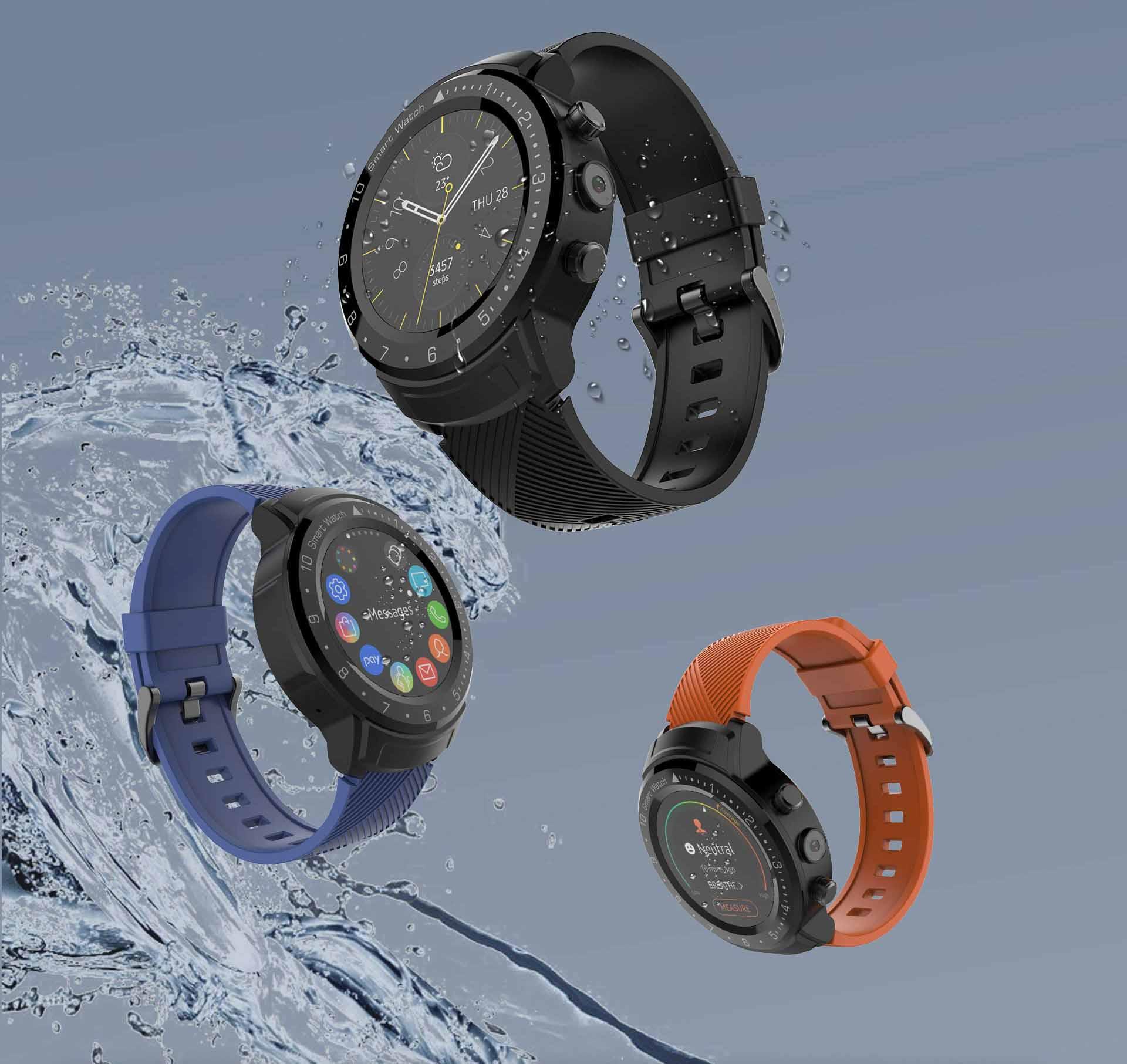 DA09 Smart Watch Phone 1G 16G full touch screen gps heart rate 4G LTE waterproof