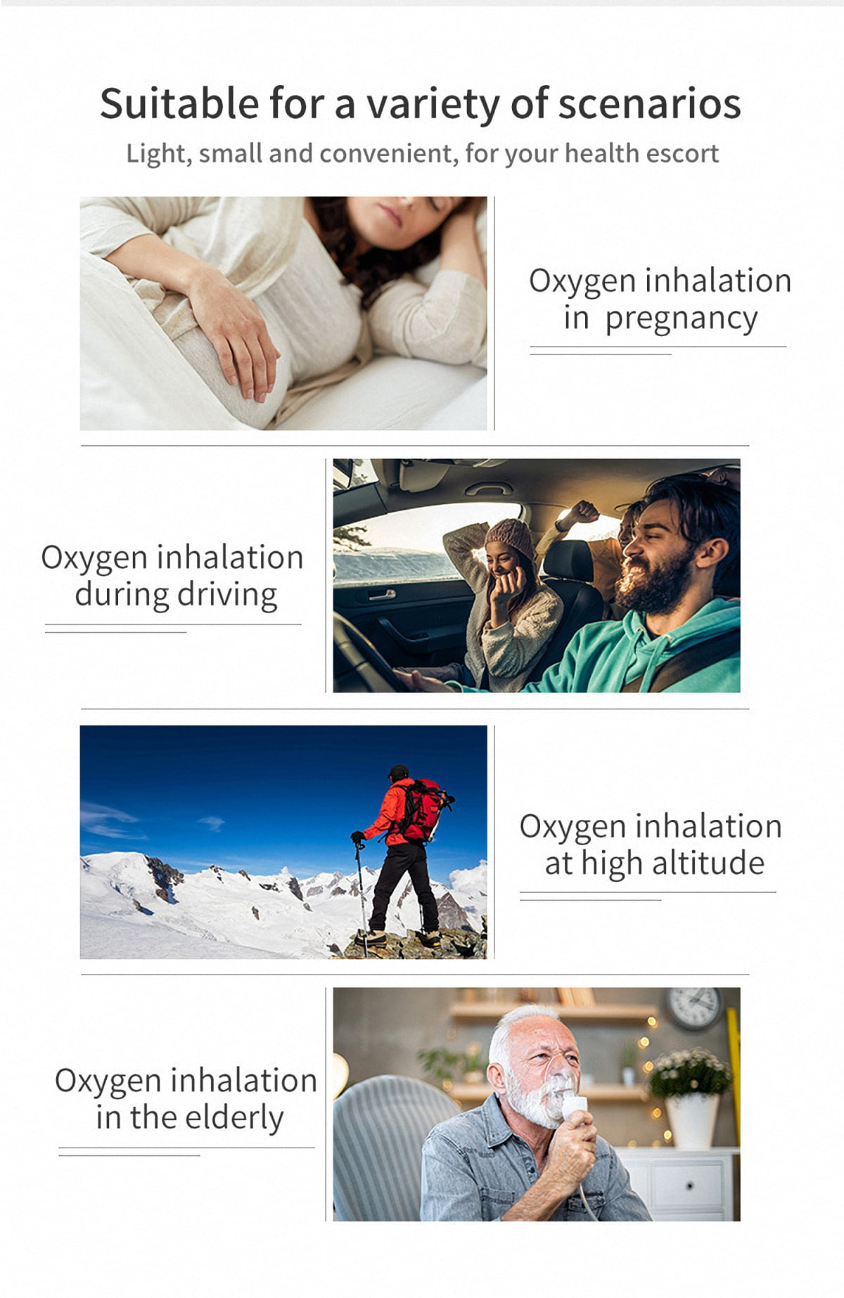 Intelligent Equipped with humidification cup Oxygen generator make the Oxygen moist Oxygen generator China (6)