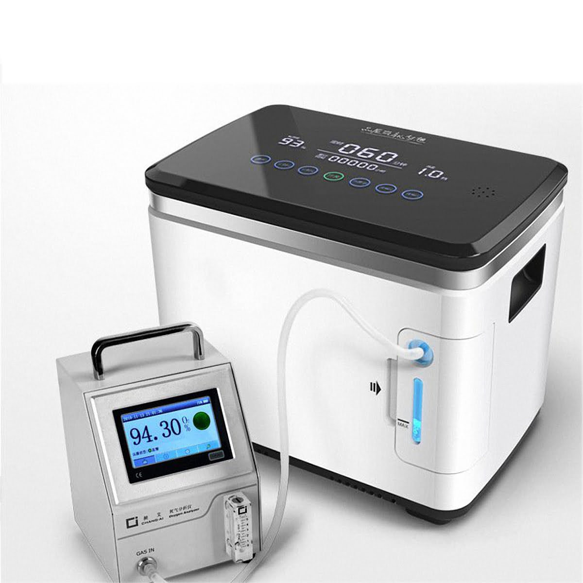 Intelligent Equipped with humidification cup Oxygen generator make the Oxygen moist Oxygen generator China (12)