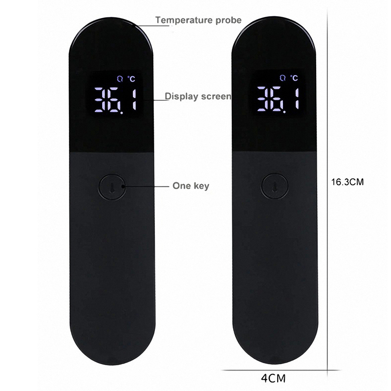 Firefly Non-contact Thermometer Infrared Forehead Body Adults Children Body Temperature Fever Measure Tool Digital LED Medical Thermometer