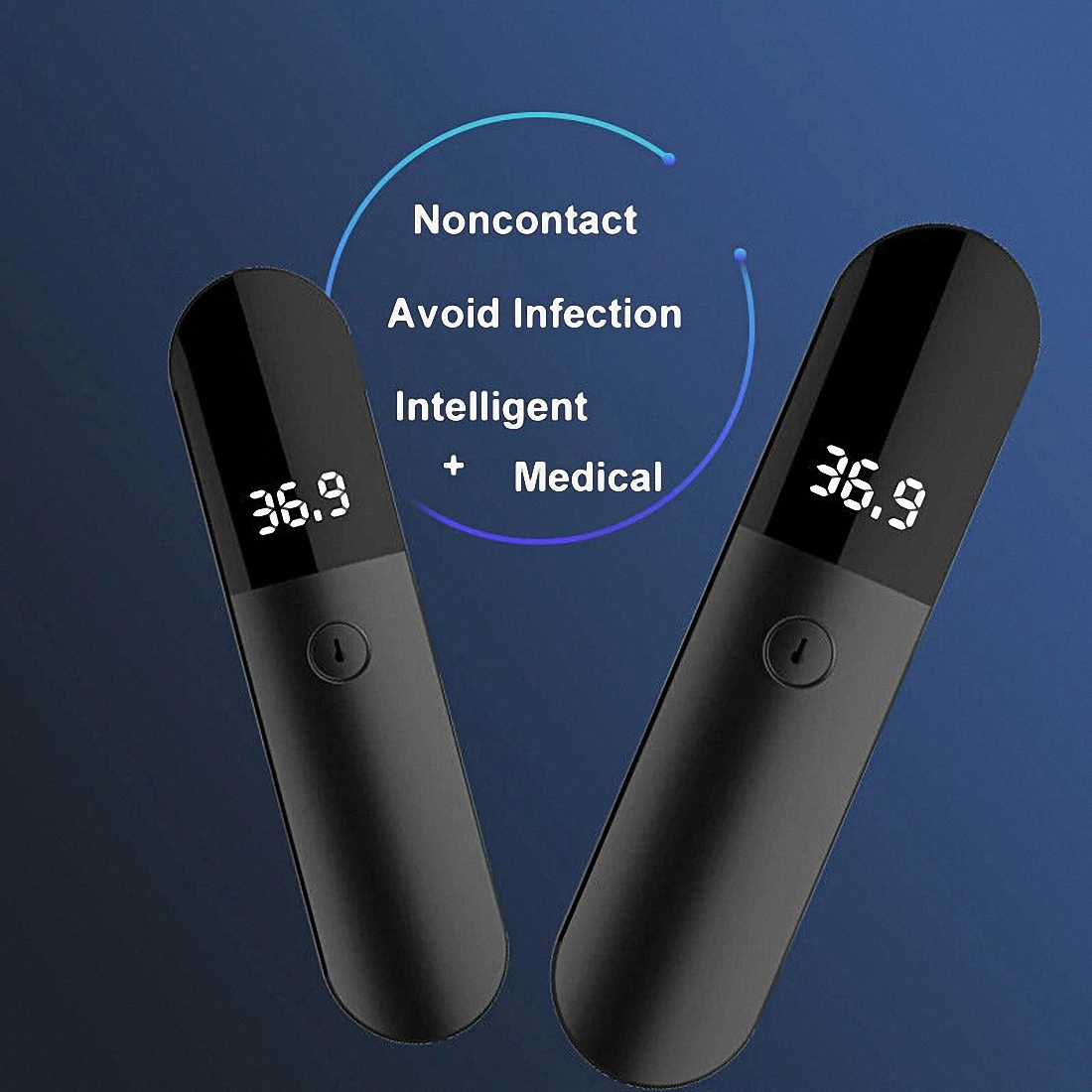 Firefly Non-contact Infrared Forehead Body Thermometer Adults Children Body Temperature Fever Measure Tool Digital LED Medical Thermometer (4)