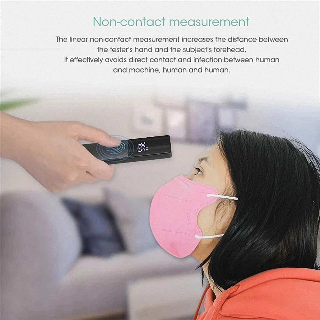 Firefly Non-contact Infrared Forehead Body Thermometer Adults Children Body Temperature Fever Measure Tool Digital LED Medical Thermometer (5)