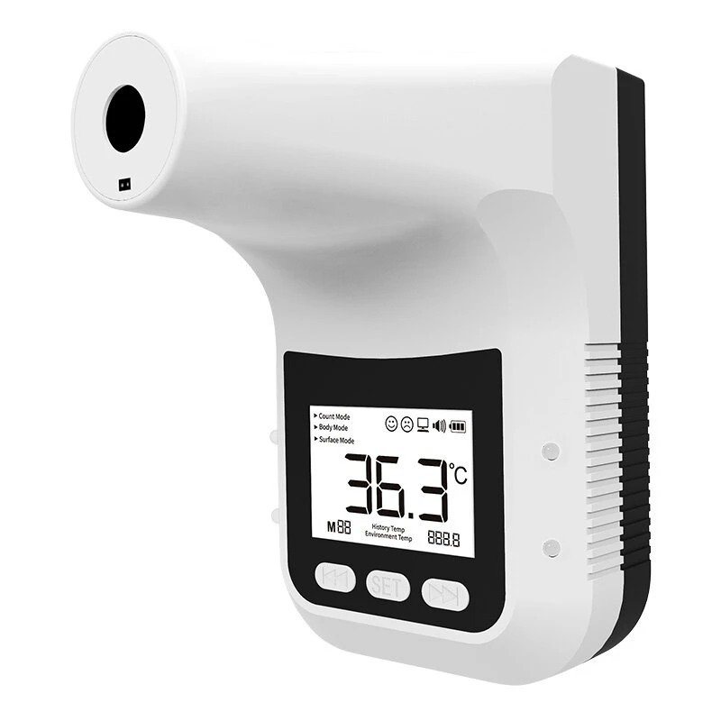Yatay K3 Pro Infrared Thermometer Non-Contact Wall-Mounted Fixed Digital Electronic Thermometer Forehead Wall-Mounted Type 002
